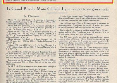 1926 30 05 Côte de Fontainebleau Route de le Reine Amélie. Amilcar 1er Martin 1'28''et 1'30''. Andreino Norton 350cc 1'31''et Sénéchal 1'26'' en Tourisme !. 1