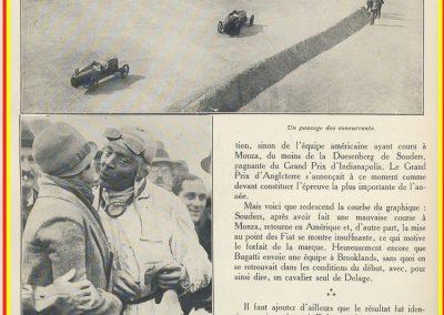 1927 01 10 GP Angleterre à Brooklands, 1er Benoist, Bourlier, Divo-Delage, Chiron, Materassi, 6ème Williams-Conelli-Bugatti. 3_