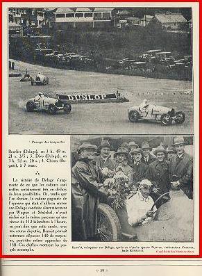 1927 01 10 GP Angleterre à Brooklands, 1er Benoist, Bourlier, Divo-Delage, Chiron, Materassi, 6ème Williams-Conelli-Bugatti. 5_