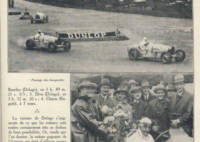 1927 01 10 GP de Grande Bretagne -Angleterre. les 3 Delage, 1er Benoist, 2ème Bourlier et 3ème Divo, 6ème Conelli-Williams-Bugatti. 3