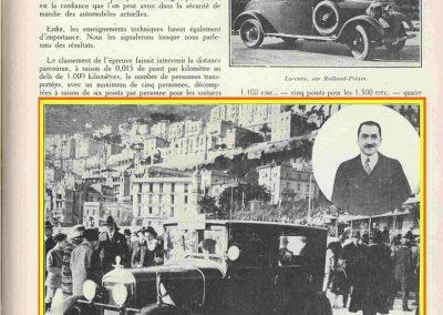 1927 -- 01 Monte Carlo 1er Lefebvre Despeaux sur Amilcar 8 ch., Compresseur et Culasse Cozette. 1