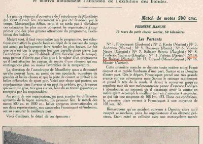 1927 03 03 Réouverture Montlhéry. Course des 1100cc 14ème Jeuffrain Amilcar C.6. GP d'Ouverture Benoist 1er des 15-2000. 2