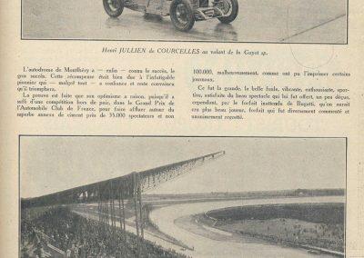 1927 03 07 Course 'Formule Libre' 1er Divo-Talbot, 2ème Chiron et Eyston-Bugatti, Mme Derancourt-Salmson 1100cc. 2