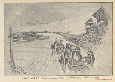 1927 03 07 Course 'Formule Libre' 1er Divo-Talbot, 2ème Chiron et Eyston-Bugatti, Mme Derancourt-Salmson 1100cc. 5
