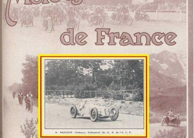 1927 03 07 GP ACF 1er Benoist, Bourlier, Morel sur Delage, Williams-Moriceau sur Talbot, Eyston sur Halford. 1