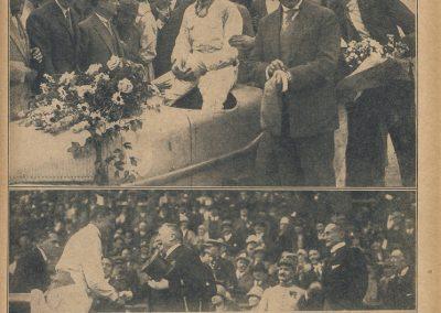 1927 03 07 GP ACF 1er Benoist, Bourlier, Morel sur Delage, Williams-Moriceau sur Talbot, Eyston. 8
