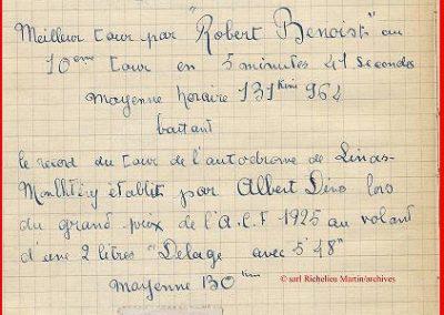 1927 03 07 GP ACF Benoist Bourlier Morel Delage Williams-Moriceau Talbot 4