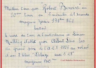 1927 03 07 GP ACF Benoist, Bourlier,Morel Delage et Wiliials-Moriceau Talbot 4