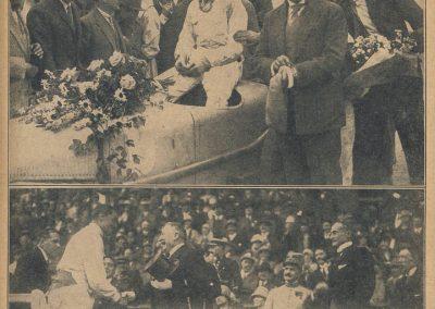 1927 03 07 GP de l'ACF à Montlhéry. 1er Benoist, 2 Bourlier, 3 Morel Delage, 4 Williams-Moriceau Talbot. 0_