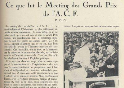 1927 03 07 GP de l'ACF à Montlhéry. 1er Benoist, 2 Bourlier, 3 Morel Delage, 4 Williams-Moriceau Talbot. 1