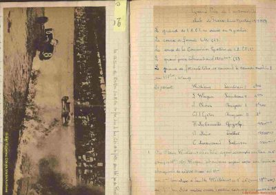 1927 03 07 GP de l'ACF à Montlhéry. 1er Benoist, 2 Bourlier, 3 Morel Delage, 4 Williams-Moriceau Talbot. 10