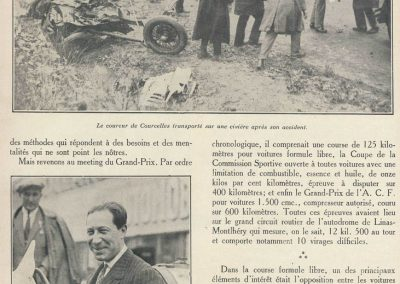 1927 03 07 GP de l'ACF à Montlhéry. 1er Benoist, 2 Bourlier, 3 Morel Delage, 4 Williams-Moriceau Talbot. 15