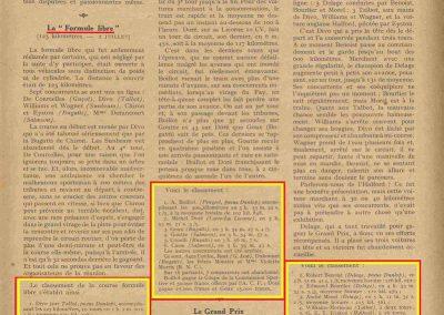 1927 03 07 GP de l'ACF à Montlhéry. 1er Benoist, 2 Bourlier, 3 Morel Delage, 4 Williams-Moriceau Talbot. 4