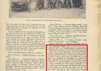 1927 03 07 Paris Nice Motos et GP ACF Coupe Commission Sportive 1