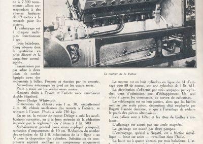 1927 03 07 Talbot 8c 1500cc 1