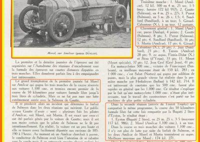 1927 03-10 04 Course Formule libre, (Epreuves d'Encadrement T.T.F). Amilcar 1er Morel et Martin ex-aquo. 1