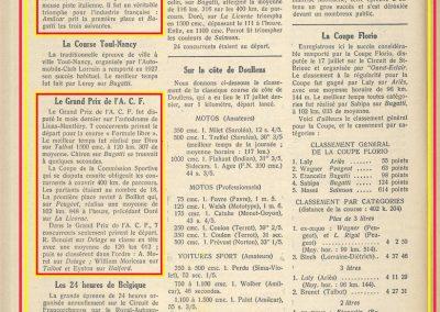 1927 04 09 GP ACF Benoist-Morel-Williams-Moriceau, Coupe Florio_