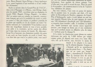 1927 05 09 GP de Milan. Amilcar, Zampiérie, 1er des 1100. GP d'Italie et d'Europe 1er Benoist Delage. 2