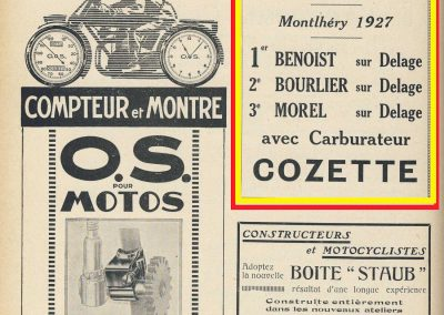 1927 07 03 GP ACF Benoist Bourlier Morel - Cozette 3
