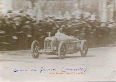 1927 08 05 Gémenos (Marseille), 1km, 1er Morel Amilcar C.O. 20''3-5. 1