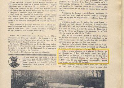 1927 09 03 Critér. Paris Nice - Bourlier Delage Morel Amilcar R.B. copie