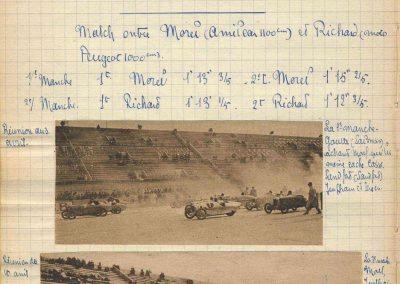1927 10 04 T.T. Journées Encadrement Amilcar 1er Morel, ab Martin 4
