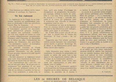 1927 10 07 GP Belgique Réglement_