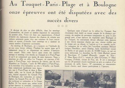 1927 10 09 GP Boulogne-Mer. Amilcar MCO GH, Duray 1er des 1100 n°37. le 15 08 GP U.M.F. 1er Martin Amilcar MCO, 1er des 1100 n°36. 1