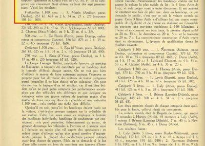 1927 10 09 GP de Boulogne-Mer des Voiturettes légères 1100, 1er Duray, Amilcar MCO. GP de l'U.M.F. 1er Martin Amilcar MCO. 4