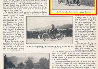 1927 13 03 la Turbie, 6,6 km, Morel-Amilcar 1er en 1100cc en 4'55'' (à 10'' derrière la 1500 Delage de Bourlier et 27'' devant la 1500 Bugatti de Chiron) !. 2_