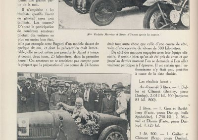 1927 14-15 08 GP Paris (Meeting), Amilcar 1er Martin MCO GH, 2ème Morel Amilcar MCO 1100. Dhome et Pousse sur BNC. 2