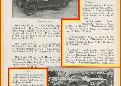 1927 14-15 08 GP Paris (Meeting), Amilcar 1er Martin MCO GH, 2ème Morel Amilcar MCO 1100. Dhome et Pousse sur BNC. 4