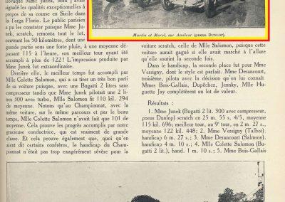 1927 14-15 08 GP Paris (Meeting), Amilcar 1er Martin MCO GH, 2ème Morel Amilcar MCO 1100. Dhome et Pousse sur BNC. 5