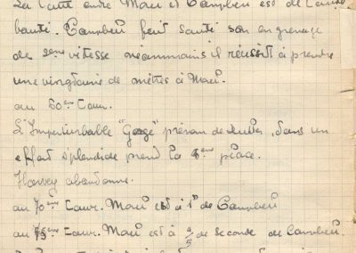 1927 15 10 Brooklands les 200 miles. Les 3 Amilcar MCO victorieuses, 1er Morel n° 23, 2ème Balls n°22 et 3ème Martin n°24. Campbel 1er Bugatti 1500cc. 5