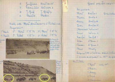 1927 17 04 GP des 1100cc, 1er Duray, ab. Morel et Martin, radiateur d'eau percé. 1
