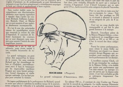 1927 20 03 Côte d'Argenteuil D.A. 1,800 km, Amilcar C.O. Martin 1'16''4-5, R.B. 84 km-h de moy. Grande Médaille d'Or. 5_