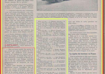 1927 20 03 Côte d'Argenteuil D.A. 1,800 km, Amilcar C.O. Martin 1'16''4-5, R.B. 84 km-h de moy. Grande Médaille d'Or. 7