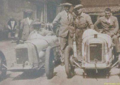 1927 20 05 Côte de Monrepos (Bordeaux) le Km L., 1er Morel (le plus grand) MCO Géo Ham, à droite le C.O. 2