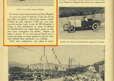 1927 25 07 GP Saint Sébastien 1er des 1100 Martin Amilcar MCO G.H. ab. de Morel. Au GP d'Espagne 1er des 1500 Benoist, Morel est en panne avec la 2ème et même Delage 1500. 2