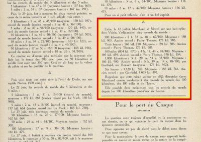 1927 26 09 VOISIN, 8 cyl., Records, 4383 km en 24 h. à 182 kmh de moy., Marchand, Morel et le Prince Kiriloff. 10