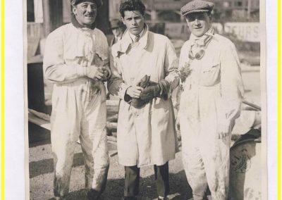 1927 27 09 Record des 24 heures sur Voisin +de 8000cc à 182,860 kmh et 4.300 km parcourus par Morel, Marchand, Lefèvre et le Prince de Kiriloff. 1