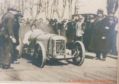 1927 30 01 Côte du Boulevard Michelet à Marseille, 2,5 km, Amilcar C.O. 1er Morel en 30'3-5 R.B. 1