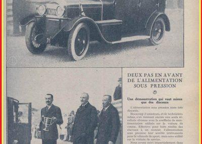 1927 30 01 Rallye de Monte-Carlo (Monaco) 1er au général, Amilcar, 7ch, à soupapes latérales, Compresseur Cozette, 5 personnes à bord, départ de Koenigsberg.1