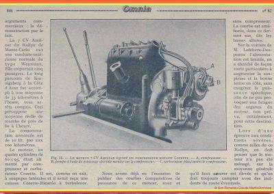 1927 30 01 Rallye de Monte-Carlo (Monaco) 1er au général, Amilcar, 7ch, à soupapes latérales, Compresseur Cozette, 5 personnes à bord, départ de Koenigsberg.3