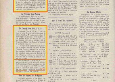 1927 30 06 GP de Monza Italie, ACF 1er Benoist, 2ème Morel-Delage et 3ème Williams-Moriceau sur Talbot. 1
