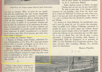 1927 31 07 GP Espagne 1er Benoist-Delage, ab de Morel sur Delage 1500cc_