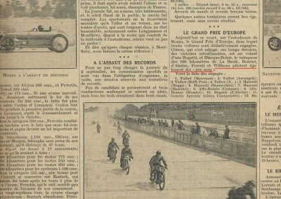 1928 02 09 Records Morel Amilcar MCO GP Europe Monza Williams_