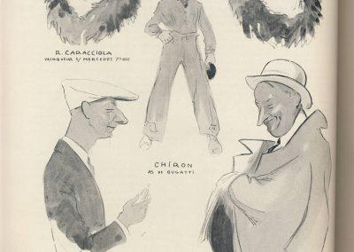 1928 07 14 Caricature des 'As' par Gého Ham. GP Allemagne