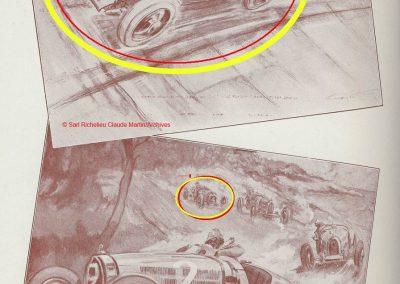 1928 09 04 Circuit International du Cap d'Antibes ''la Guaroupe'' Amilcar M.C.O. G.H, Moriceau 1er des 1100. Morel sur l'anneau à Montlhéry. 5