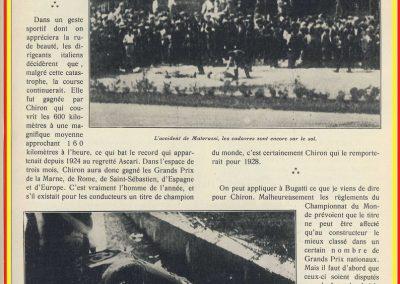 1928 09 09 GP d'Italie à Monza et d'Europe Chiron, DC de Materassi 3
